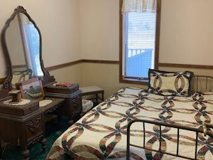 Wichita Kansas Bed and Breakfast farm stay experience - The Childhood Chamber at Underhill Farms